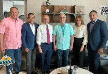 Photo of Domínguez Brito encabeza visita a Gonzalo Castillo junto a miembros Comité Político PLD