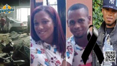Photo of Dos hombres y una mujer pierden la vida en un accidente en La Vega