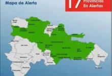 Photo of Elevan a 17 las provincias en alerta verde contra inundaciones