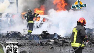 Photo of Ocho fallecidos tras estrellarse una avioneta contra un edificio en Milán